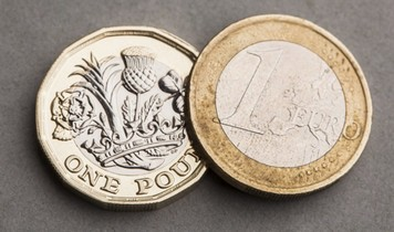 Обмен фунтов на евро